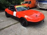 "Concorde prepared 1989 ""J"" Eunos MX5 Roadster"